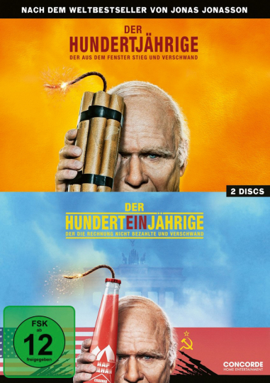 Der Hundertjährige...2 DVDs