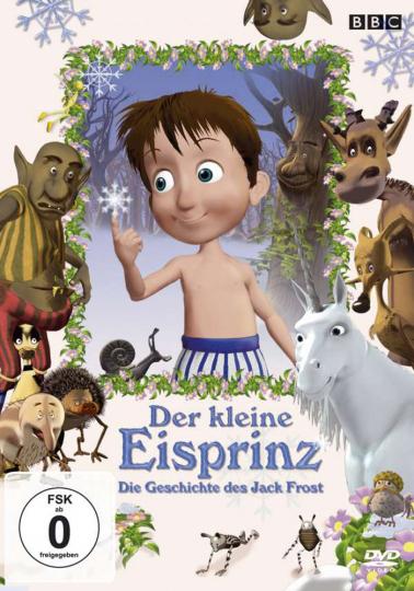 Der kleine Eisprinz. Die Geschichte des Jack Frost. DVD.
