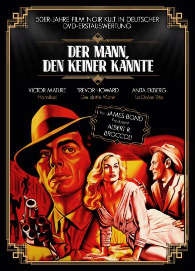 Der Mann, den keiner kannte. DVD.
