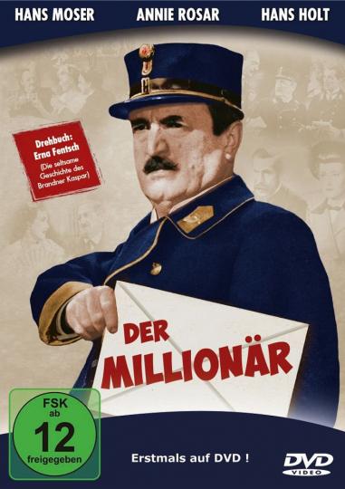 Der Millionär. DVD.