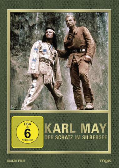 Der Schatz im Silbersee. DVD.