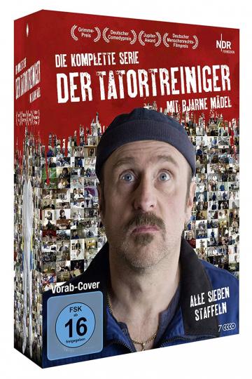 Der Tatortreiniger (Komplette Serie). 7 DVDs.