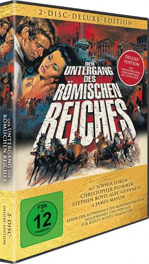 Der Untergang des Römischen Reiches. Deluxe Version. 2 DVDs.