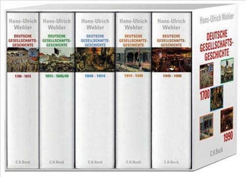 Deutsche Gesellschaftsgeschichte. 5 Bände