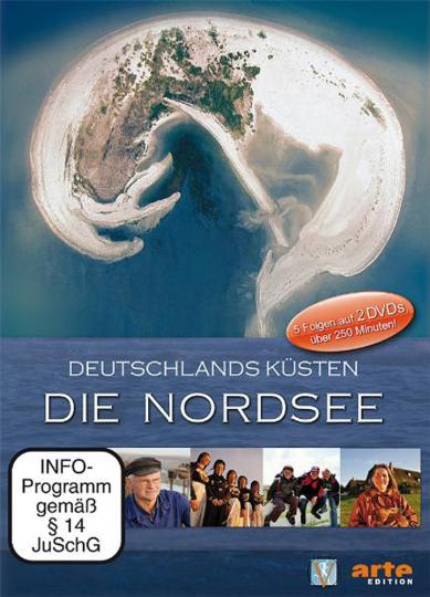 Deutschlands Küsten. Die Nordsee. arte-Edition. 2 DVDs.