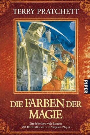 Die Farben der Magie - Ein Scheibenwelt-Roman mit Illustrationen von Stephen Player