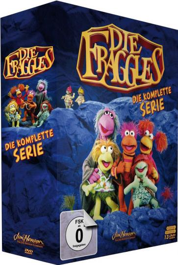 Die Fraggles (Komplette Serie). 13 DVDs