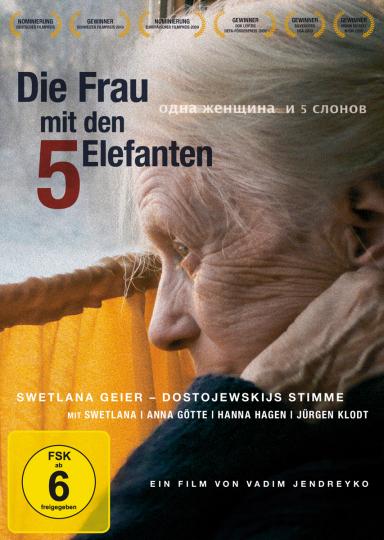 Die Frau mit den 5 Elefanten. Swetlana Geier - Dostojewskijs Stimme. DVD.