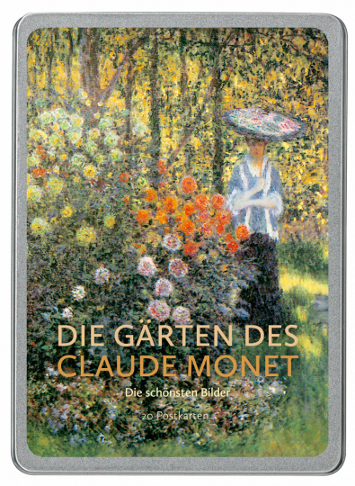 Die Gärten des Claude Monet. Postkarten-Set.