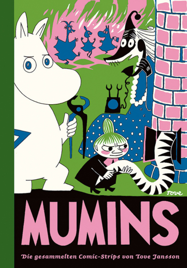 Die gesammelten Comic-Strips von Tove Jansson. Mumins 2.