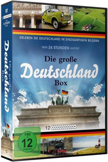 Die große Deutschland Box 12 DVDs