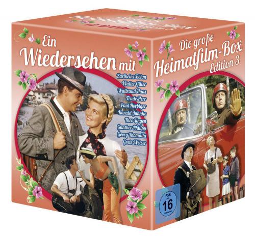 Die große Heimatfilm-Box 3. 12 DVDs.