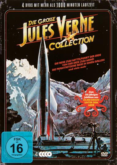 Die große Jules Verne Collection. 4 DVDs.