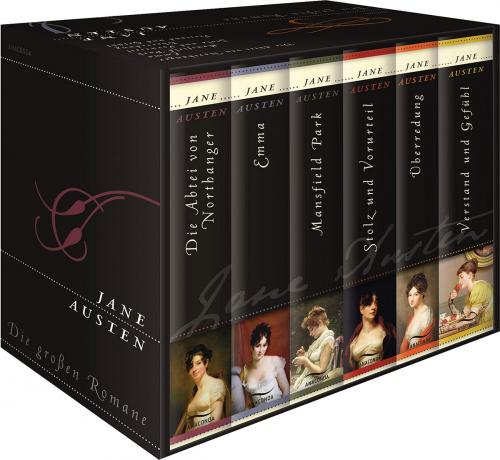 Die großen Romane - 6 Bände in Kassette | Jetzt online