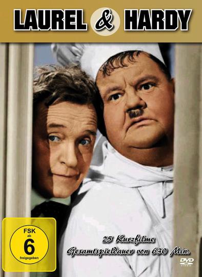 Die Laurel & Hardy Box. 5 DVDs.