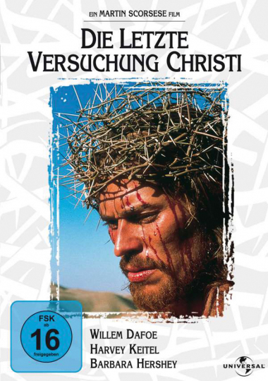 Die letzte Versuchung Christi. DVD.