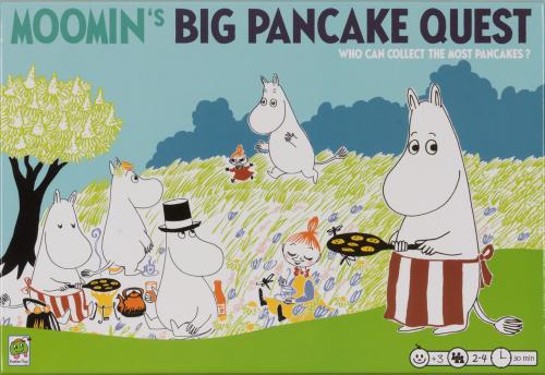 Die Mumins. Das große Pfannkuchenbacken. Gesellschaftsspiel.