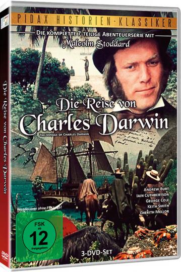 Die Reise von Charles Darwin. Die komplette Serie. 3 DVDs.