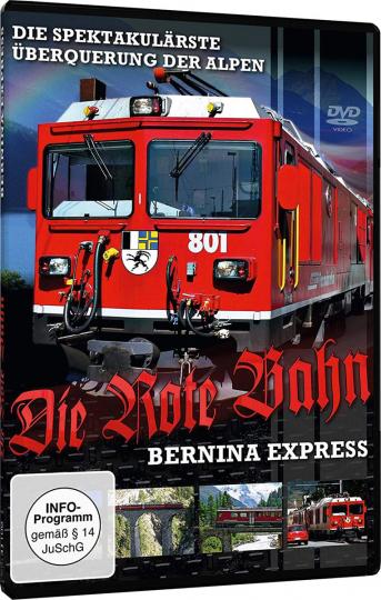 Die rote Bahn - Bernina-Express. DVD