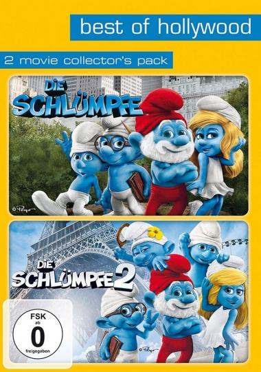 Die Schlümpfe 1 & 2. 2 DVDs.