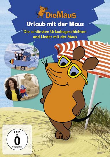 Die Sendung mit der Maus : Urlaub mit der Maus. DVD