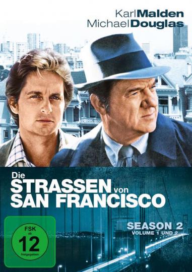 Die Straßen von San Francisco Season 2 6 DVDs