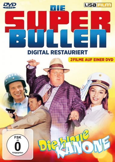 Die Superbullen & Die Blaue Kanone. DVD.