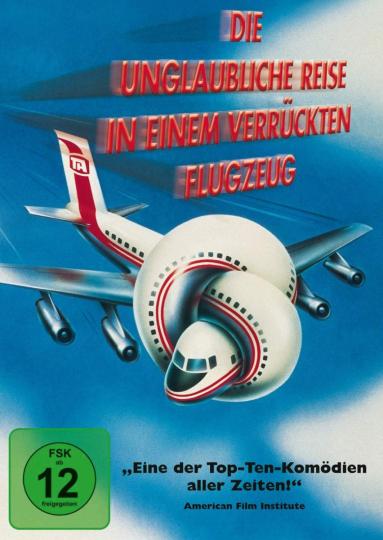 Die unglaubliche Reise in einem verrückten Flugzeug. DVD.