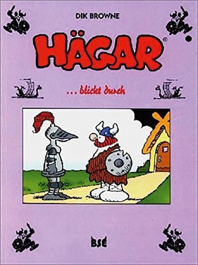 Dik Browne. Hägar blickt durch. Band 5. Graphic Novel.