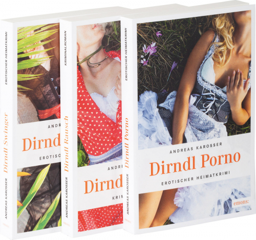 Dirndl-Erotik-Krimis Paket. 3 Bände.