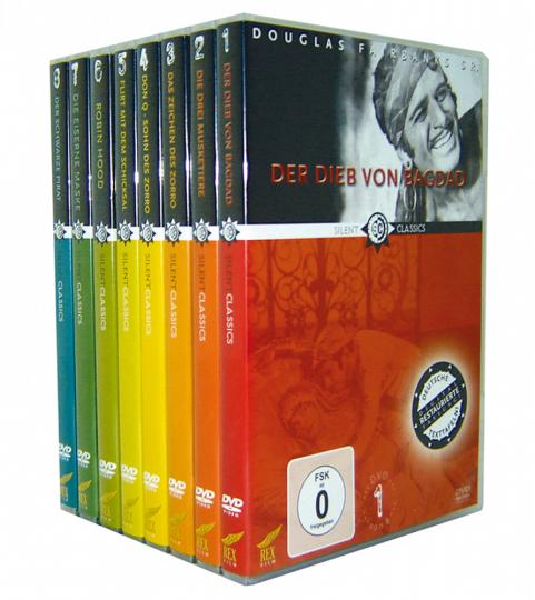 Douglas Fairbanks Collection. 8 DVDs.