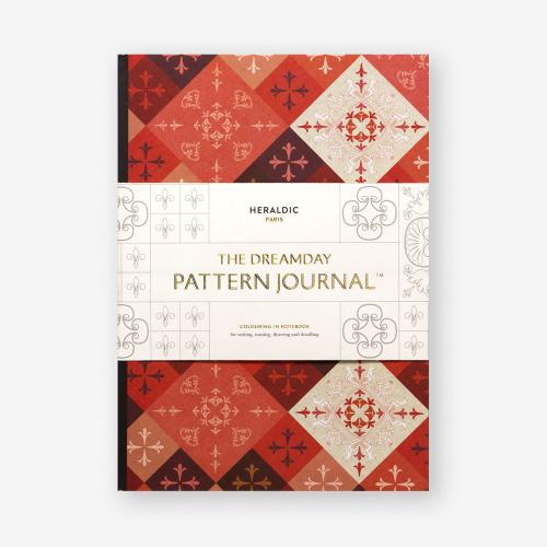 Dreamday Pattern Journal. Heraldic Paris.