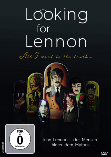 DVD Looking for Lennon - All I want is truth...DVD