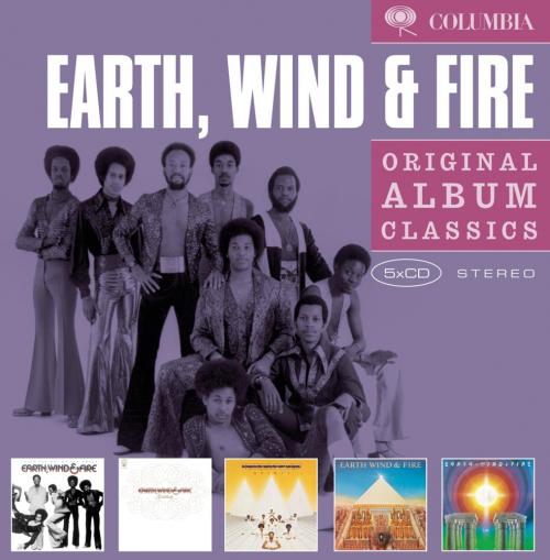 Earth, Wind & Fire. Original Album Classics. 5 CDs.