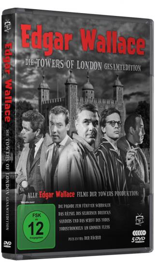 Edgar Wallace: Die Towers of London Gesamtedition. 5 DVDs.