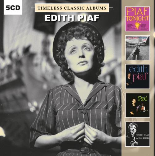 Edith Piaf. Timeless Classic Albums. 5 CDs.