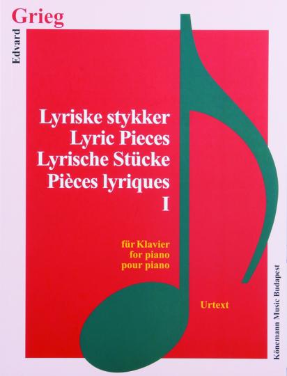 Edvard Grieg. Lyrische Stücke I. Noten für Klavier.