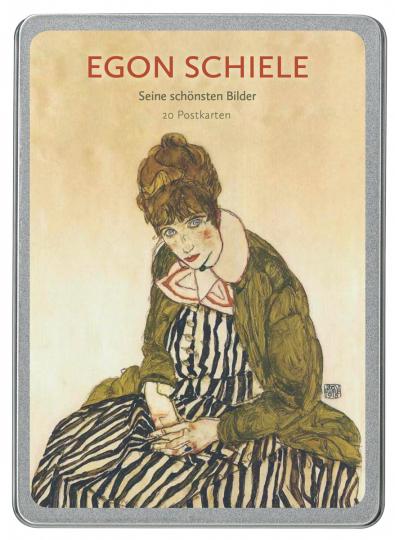 Egon Schiele. Postkarten-Set.