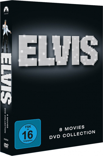 Elvis - 8 Movies Collection. 8 DVDs.