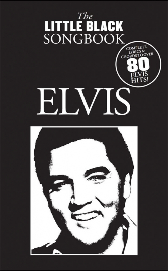 Elvis. The little black songbook. Lyrics and chrords.