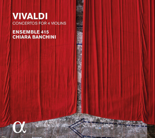 Ensemble 415 & Chiara Banchini spielen Antonio Vivaldi. Concerti op. 3 Nr. 1, 4, 7, 10. »L'estro Armonico«. CD.