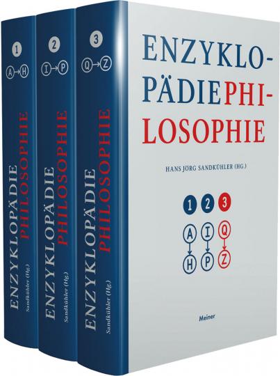 Enzyklopädie Philosophie. 3 Bände.