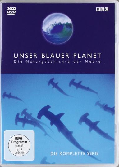 Erde: Unser blauer Planet. 3 DVDs