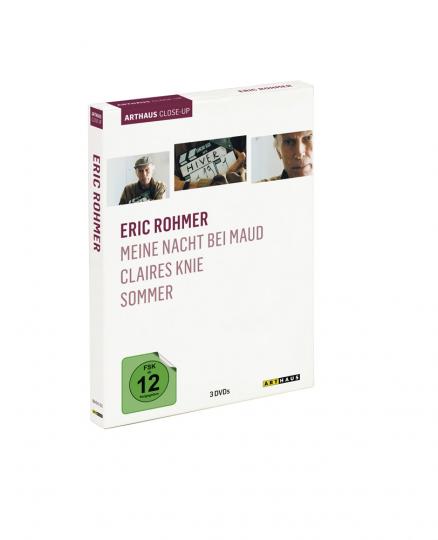 Eric Rohmer. Meine Nacht bei Maud, Claires Knie, Sommer. 3 DVDs.