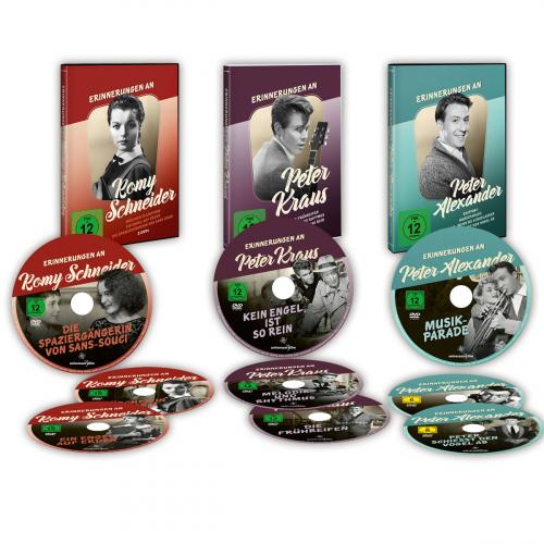 Erinnerungen an... 9 DVDs