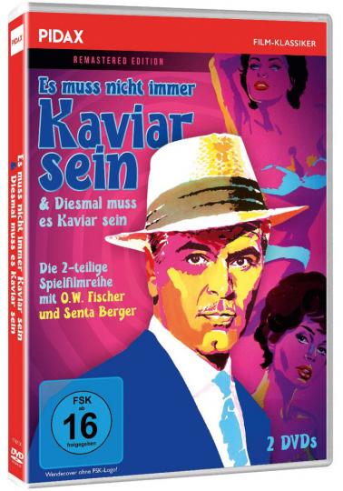 Es muss nicht immer Kaviar sein / Diesmal muss es Kaviar sein. 2 DVDs.