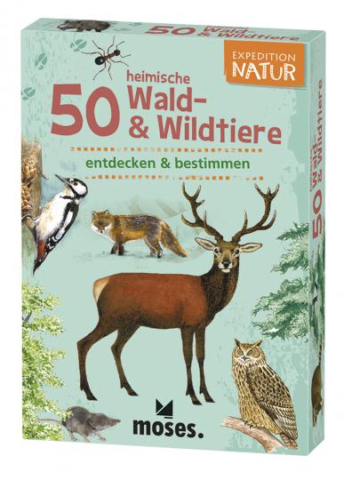 Expedition Natur. 50 heimische Wald- und Wildtiere. Entdecken und bestimmen.
