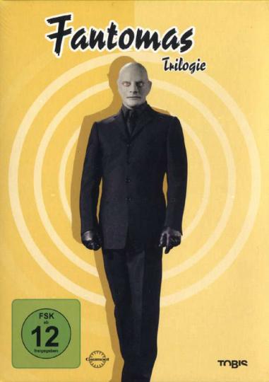 Fantomas - Die Trilogie 3 DVDs