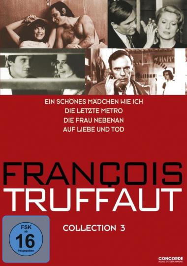 Francois Truffaut Collection 3. 4 DVDs.