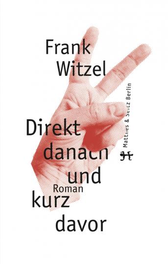 Frank Witzel. Direkt danach und kurz davor.